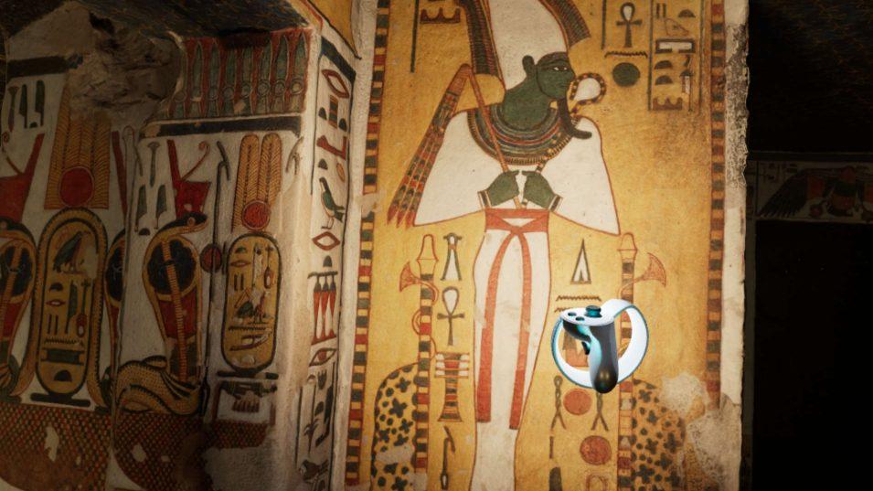 Malerei in Nefertaris Grabkammer