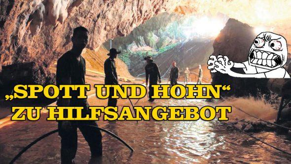 Elon Musk und Tham-Luang-Höhle – Spott für Hilfsangebot?!