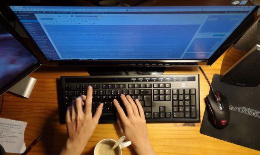 Am Computer einen Text schreiben