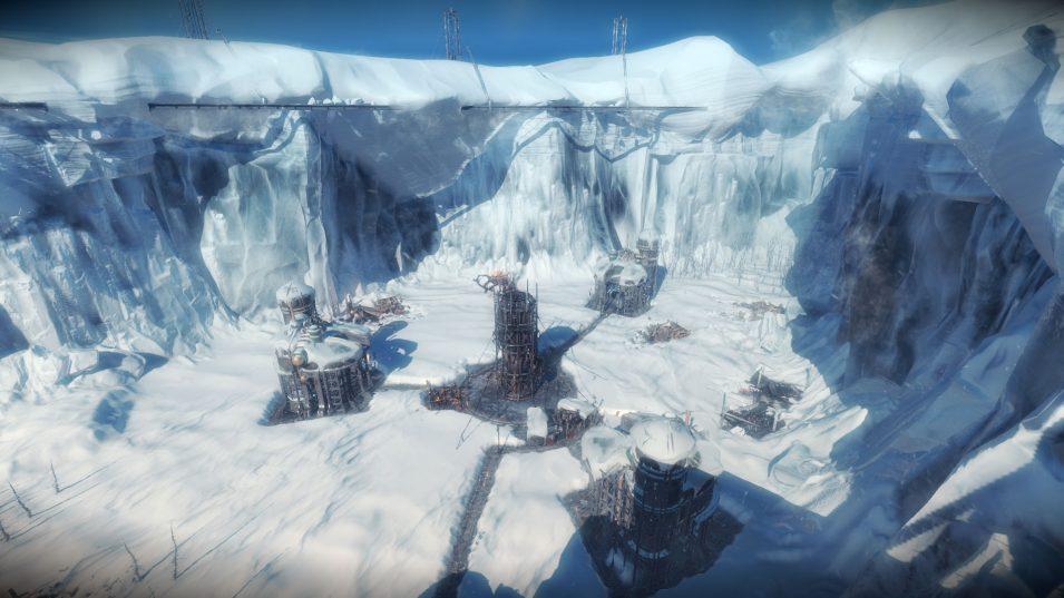 Saatgutarchen-Szenario in Frostpunk