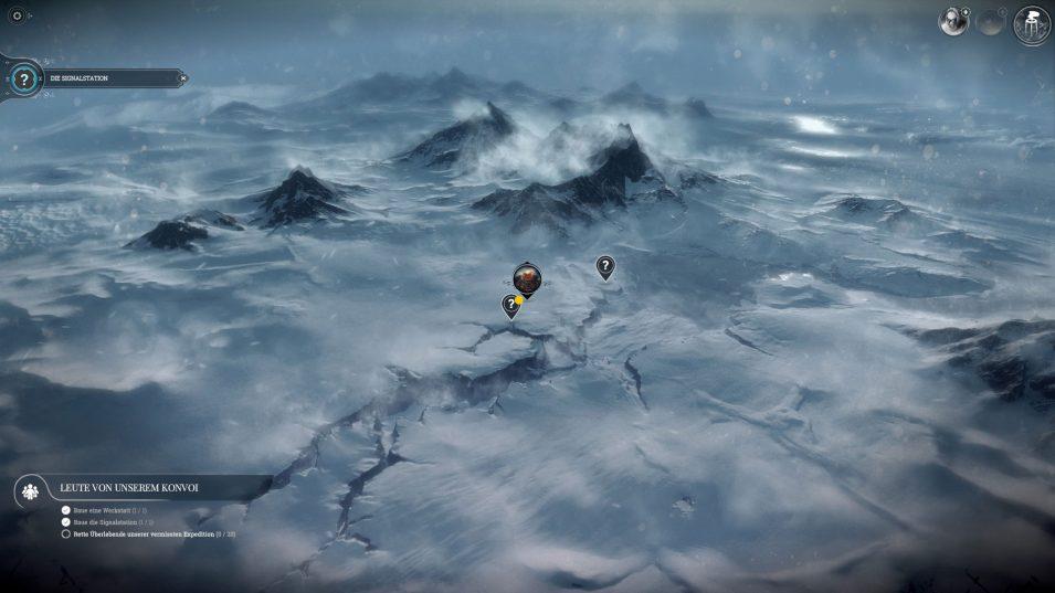 Frostpunk-Umgebungskarte