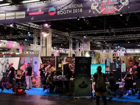 Gamescom 2018 - Indie Arena Booth