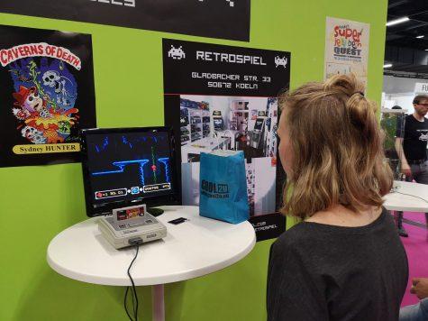 Retro-Ecke auf der Gamescom 2018