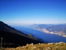 Ausblick von der Monte Baldo Bergstation