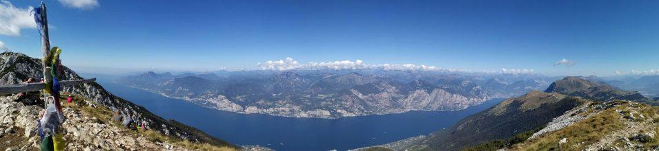 Gipfelpanorama Monte Baldo