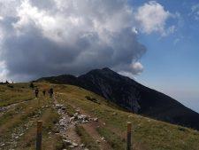 Wolken auf dem Monte Baldo