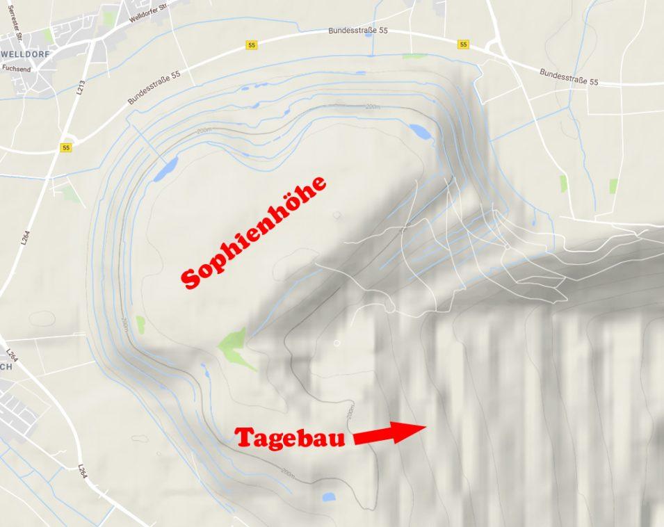 Sophienhöhe bei Hambach