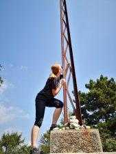 Ravana am Gipfelkreuz