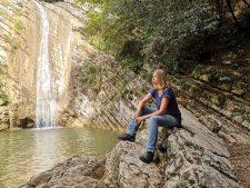 Ravana am Wasserfall