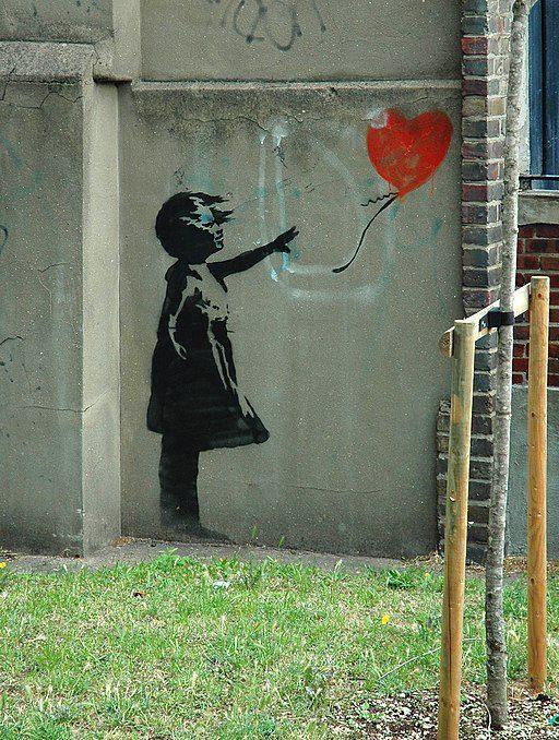 Banksy - Girl with balloon