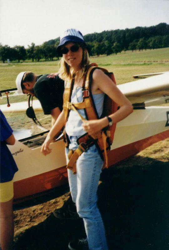 Ich 1999 bereit zum Flug mit der Ka-8