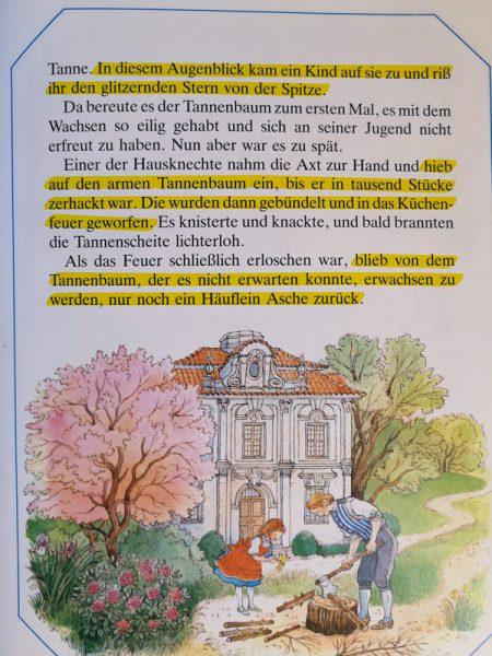 Märchenzauber - Der Tannenbaum