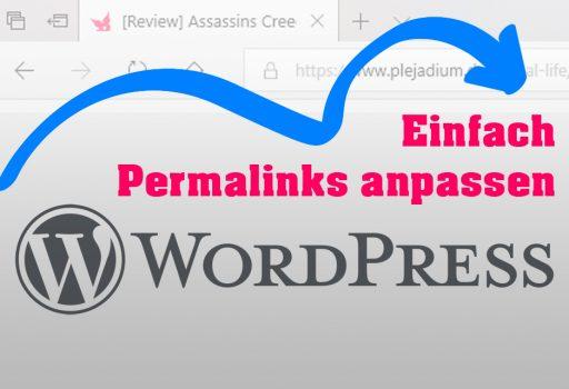 Permalinks in Wordpress anpassen
