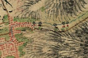 Schmitt'sche Karte - Mühlen