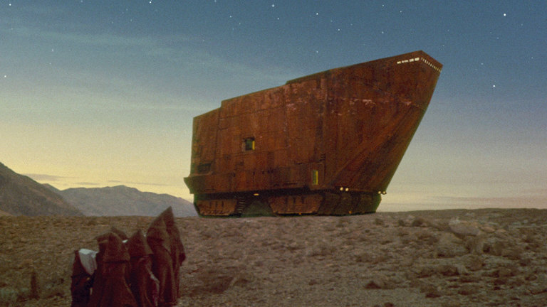 Sand Crawler in Star Wars