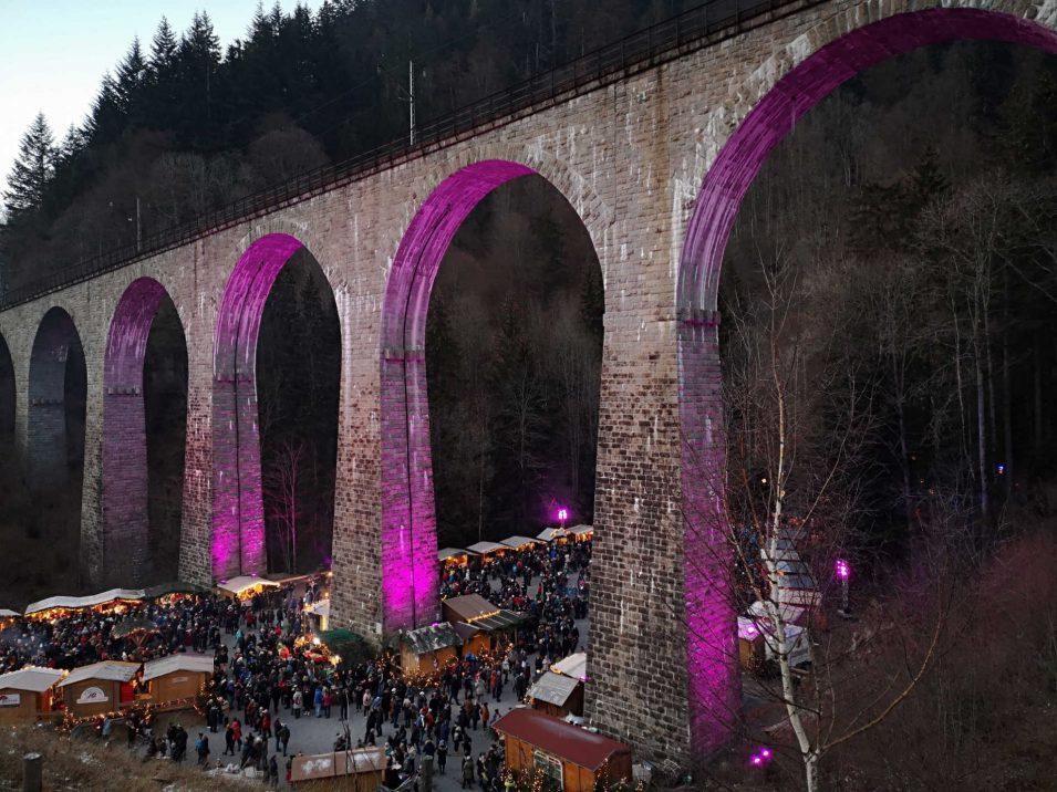 Viadukt über die Ravennaschlucht