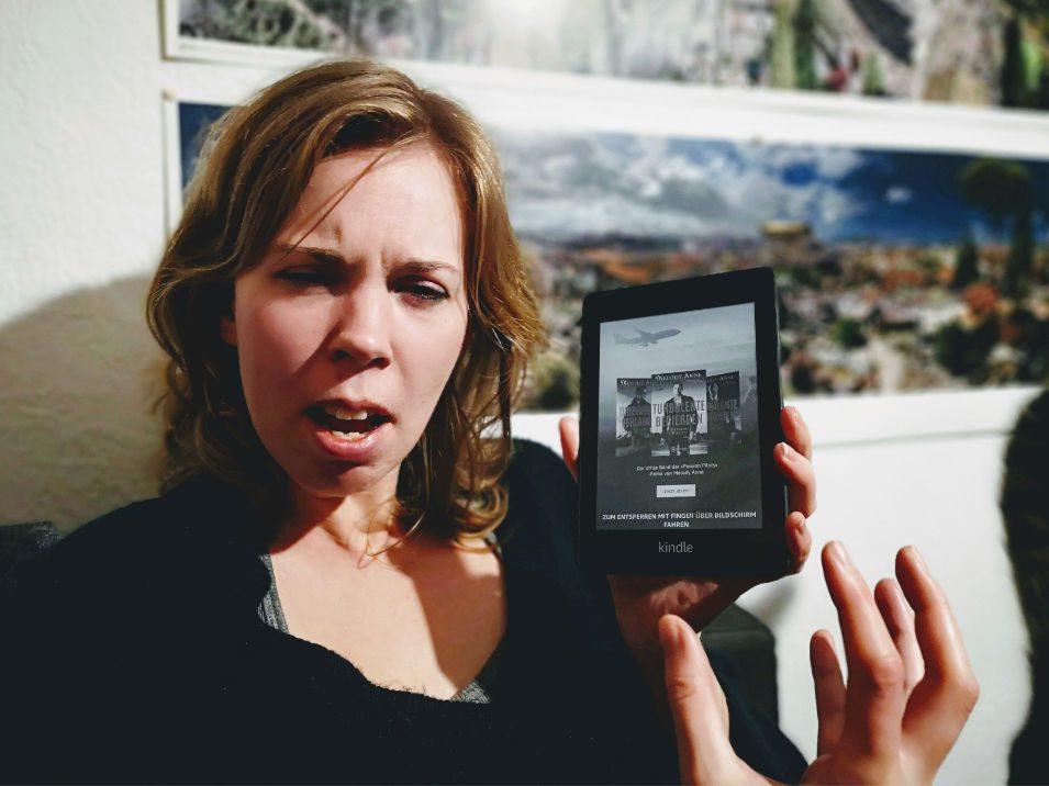 Lucyda ärgert sich über Kindle-Werbung