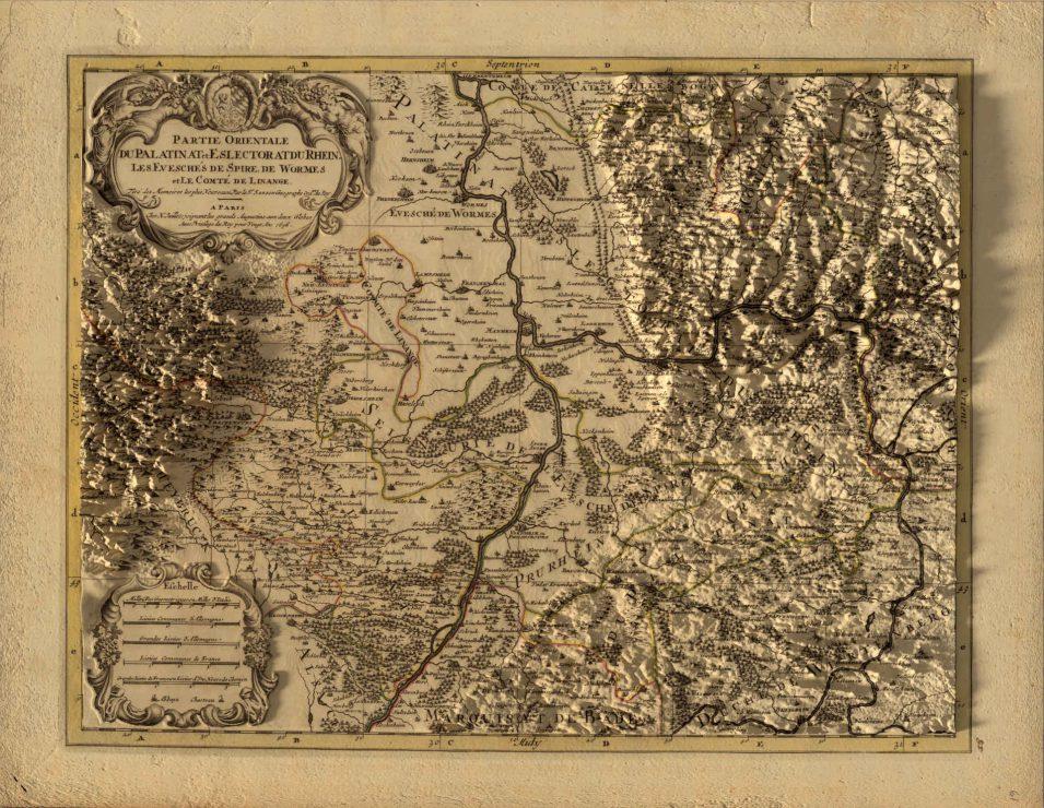 Kurpfalz 1708 in 3D