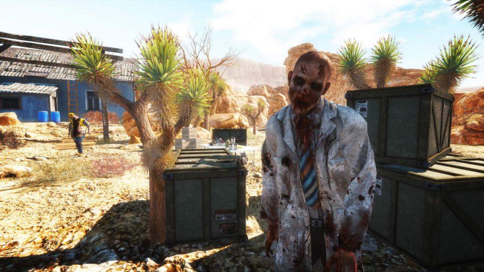 Zombie in Arizona Sunshine