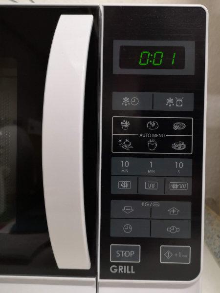 Neue Mikrowelle