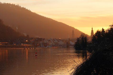Goldene Stunde in Heidelberg