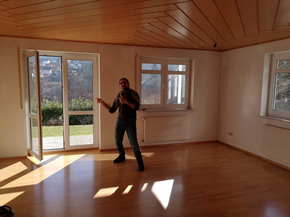 Vorfreude auf die neue Wohnung