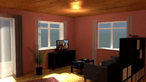 Wohnzimmer-Planung mit Duft des Orients