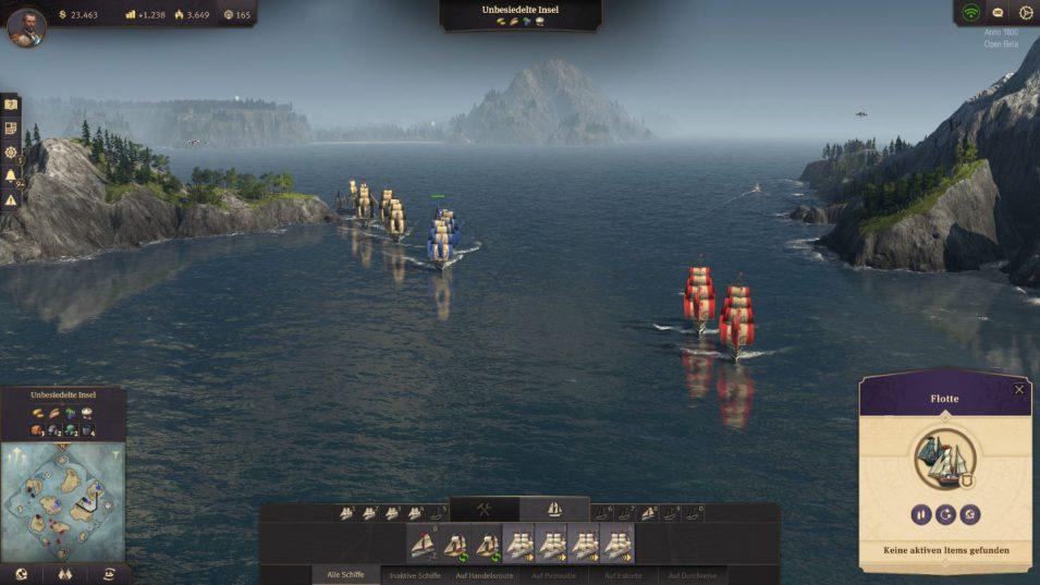 Fregatten auf Feindfahrt