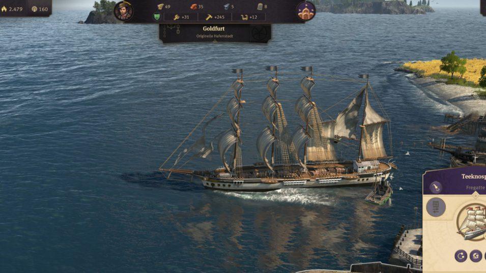Anno 1800 - Fregatte
