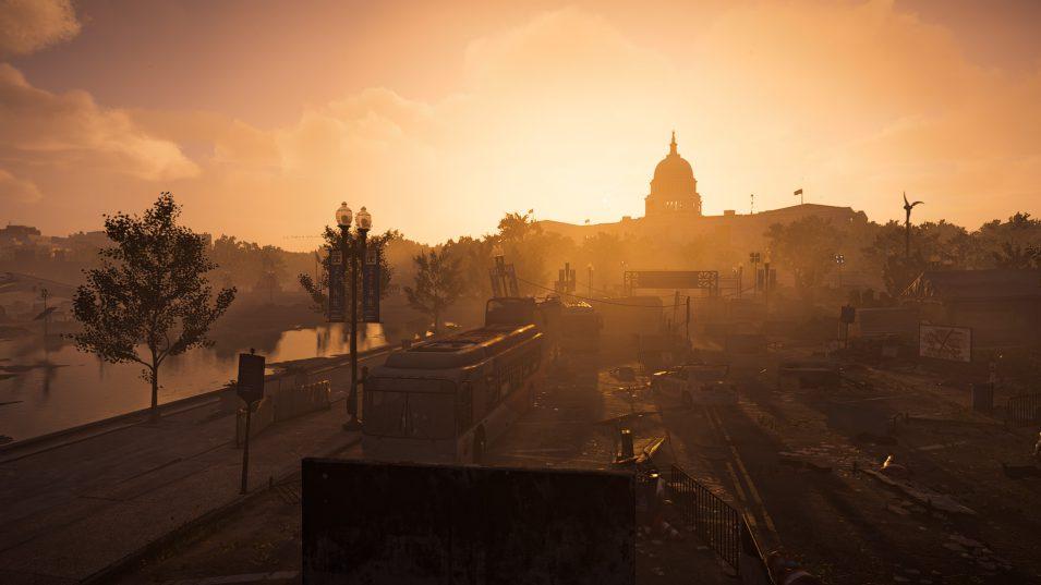 Capitol in der Morgendämmerung