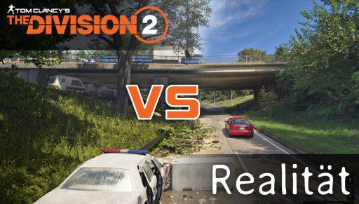 Division im Vergleich zur Realität