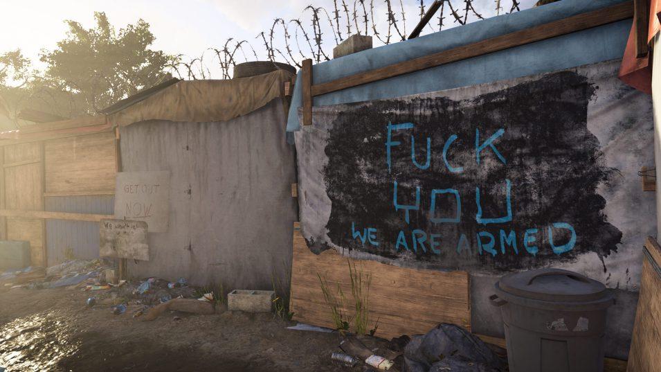 Befestigung von Zivilisten