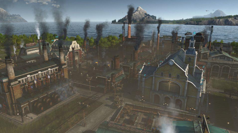 Mehrere Fabriken verursachen viel Rauch
