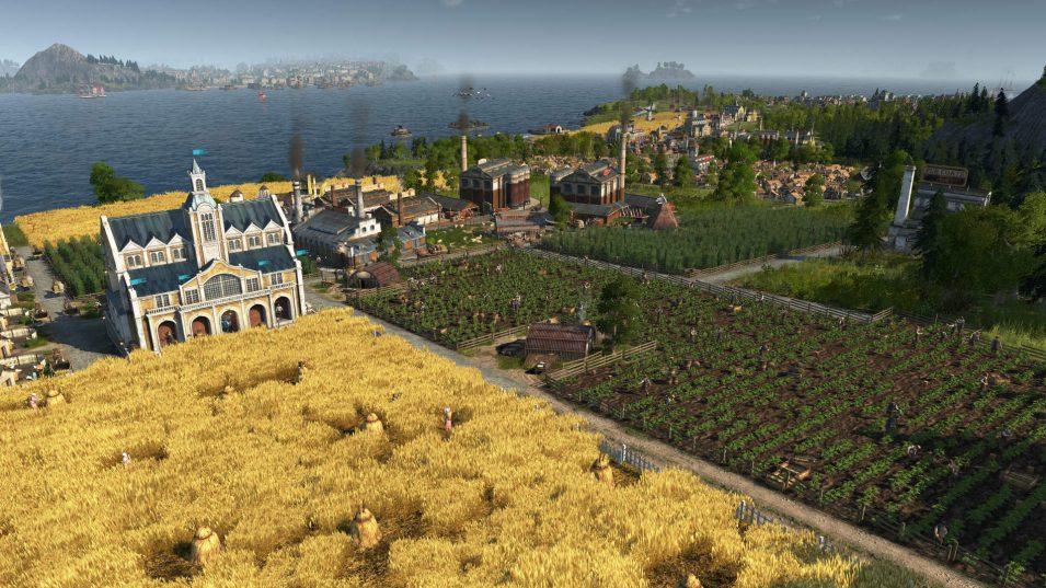 Felder und Weiden für die Landwirtschaft