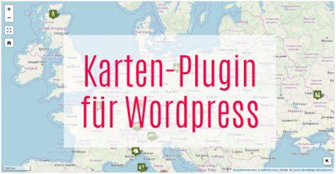 Karten-Plugin für Wordpress