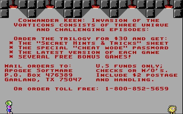 Commander Keen 3 (1990)
