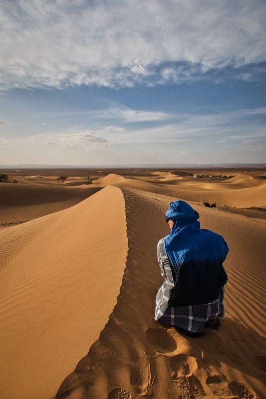 Pierre in der Wüste: Nachher