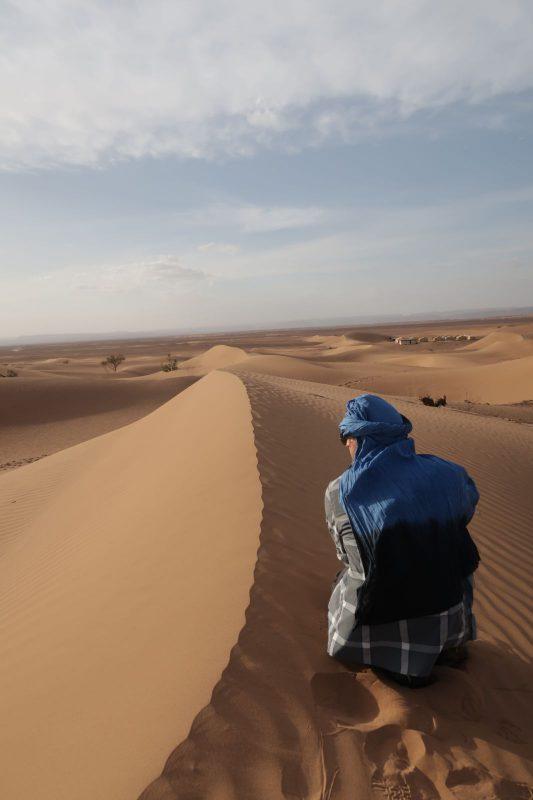 Pierre in der Wüste: Vorher