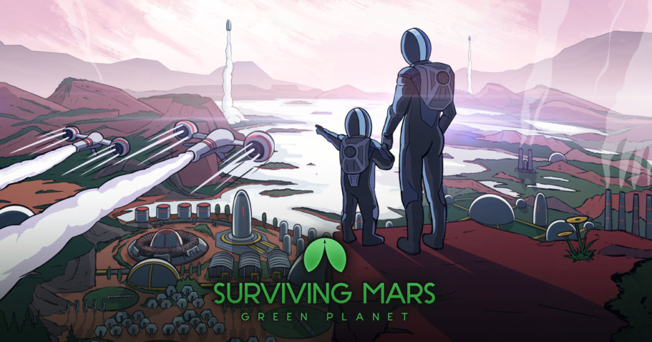 Surviving Mars - Green Planet DLC