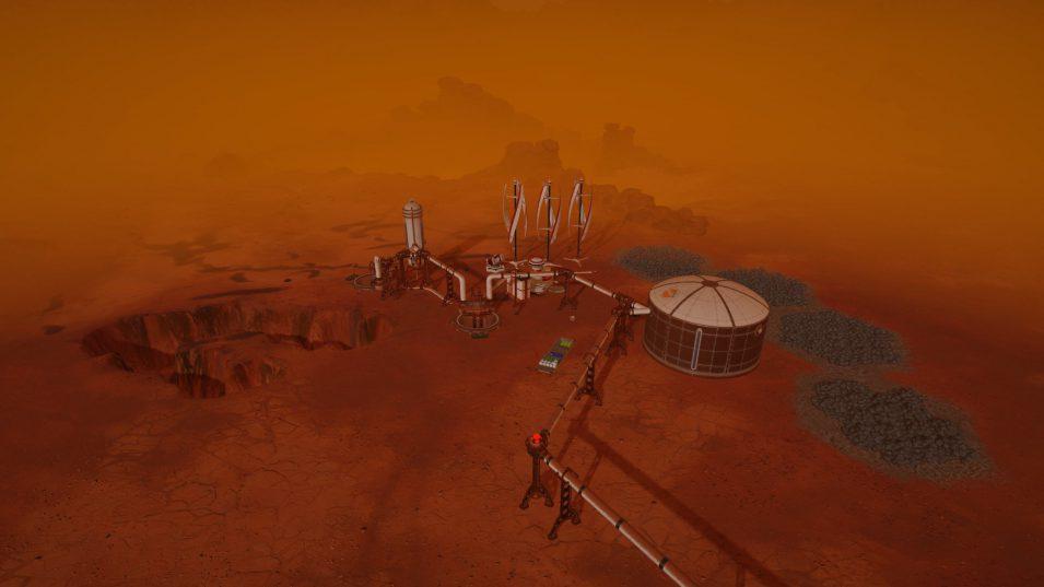 Surviving Mars - Staubstürme