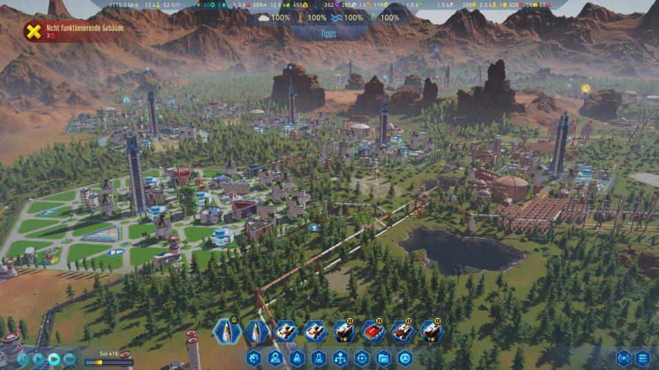 Green Planet - Terraforming abgeschlossen