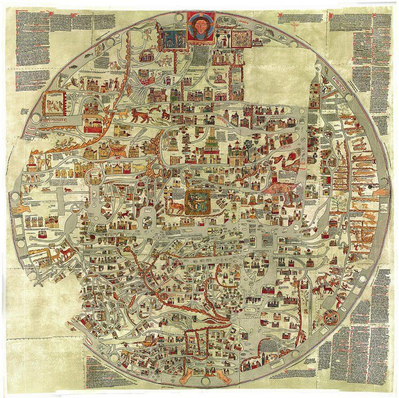 Ebstorfer Weltkarte von um 1300