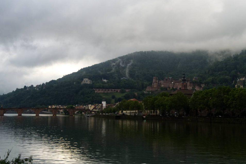 Schloss Heidelberg mit versuchter Verbesserung