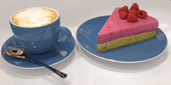Cappuccino & Himbertorte