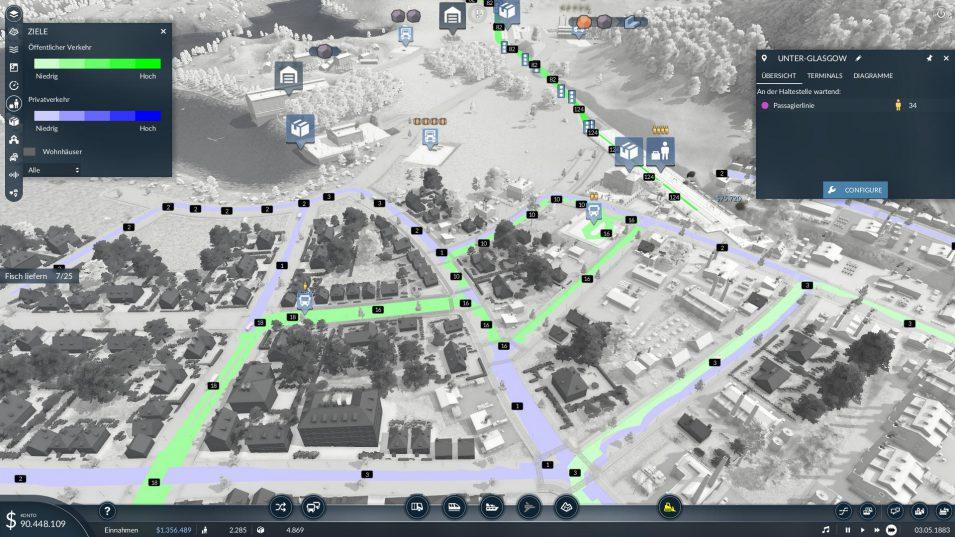 Overlay zur Nutzung der Infrastruktur