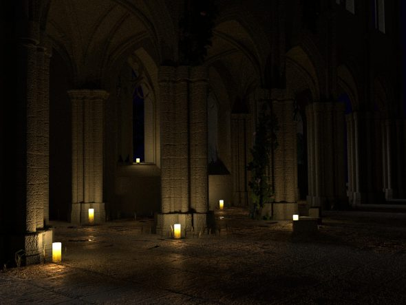 Bei Kerzenschein durch das Kloster Alpirsbach
