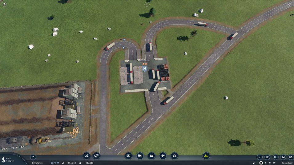 LKW-Station mit mehreren Anschlüssen