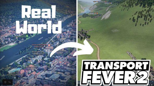 So importierst du eine Landschaft aus der echten Welt in Transport Fever 2