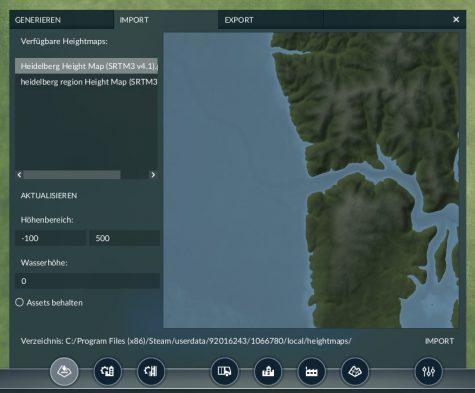 Transport Fever 2 - Eigene Karte importieren