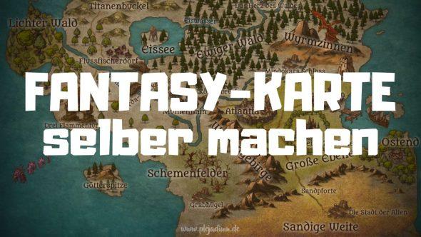 Erstelle deine eigene Fantasy-Karte!
